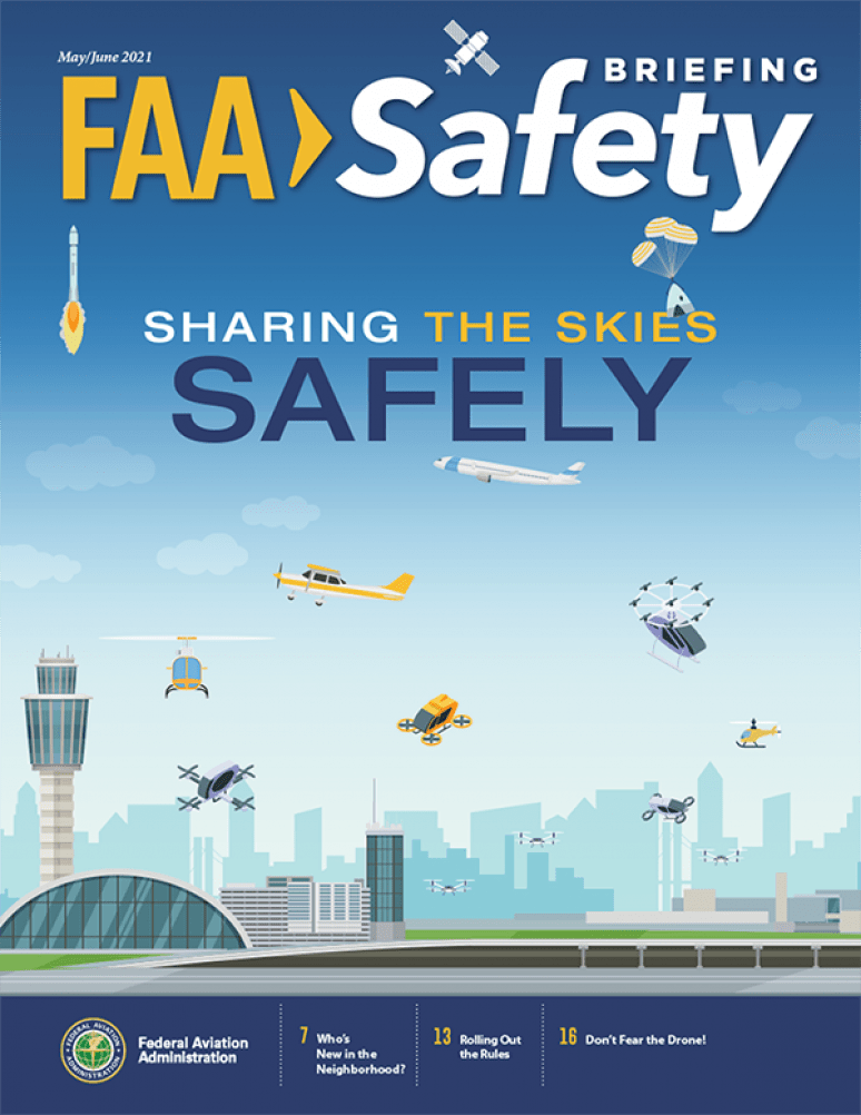 May-june 2021; Faa Safety Briefing