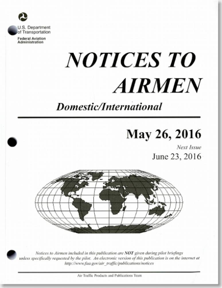 Notices to Airmen