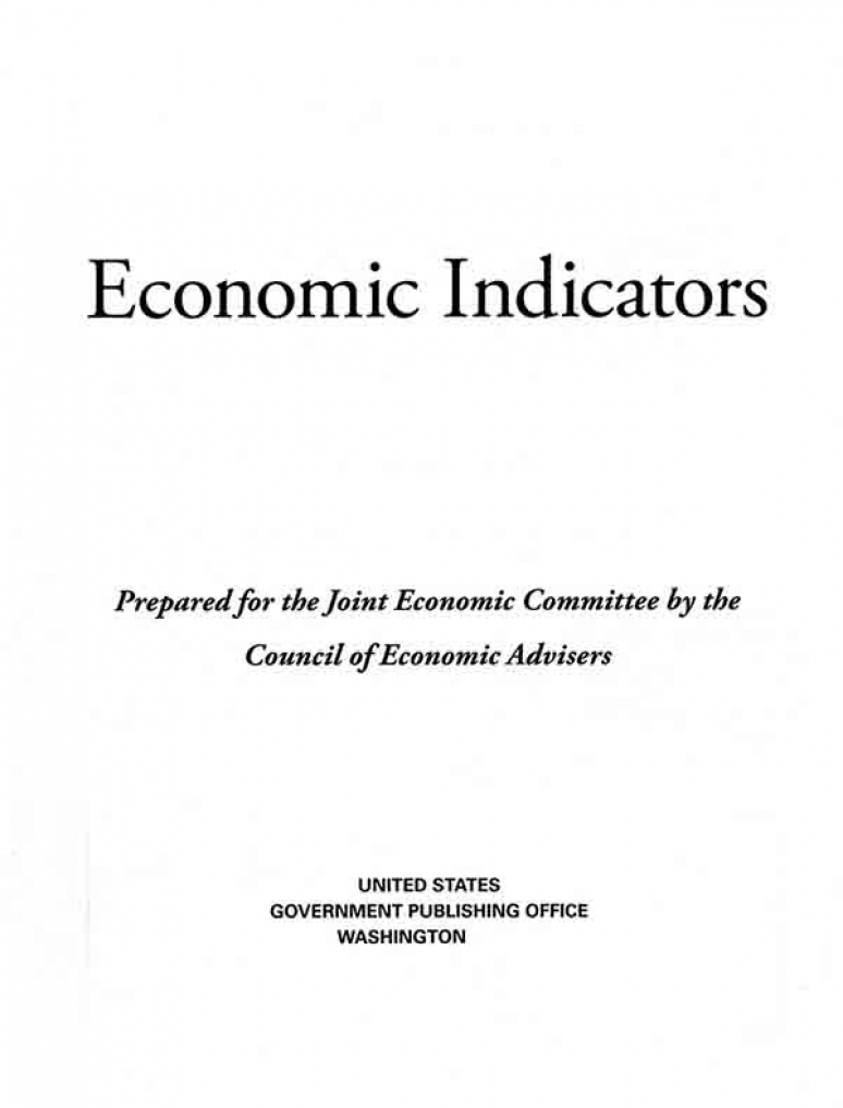 November 2020; Economic Indicators