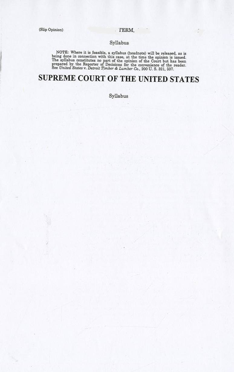 Slip Opinion 18-485, McDonough v. Smith, indiviually and as Special District Attorney for the County of Renssalaer, New York
