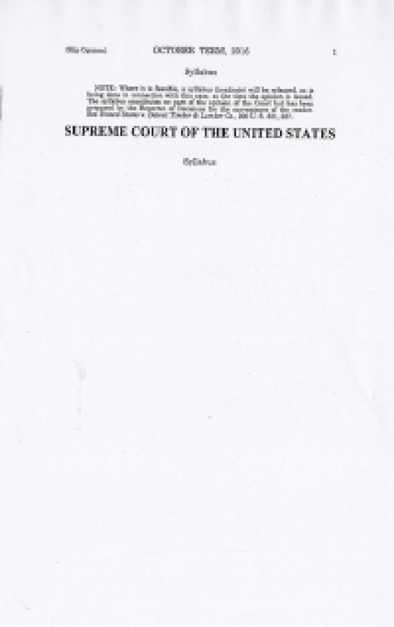 19-292; 2020 Supreme Court The Individual Slip Opinions Term Of Court