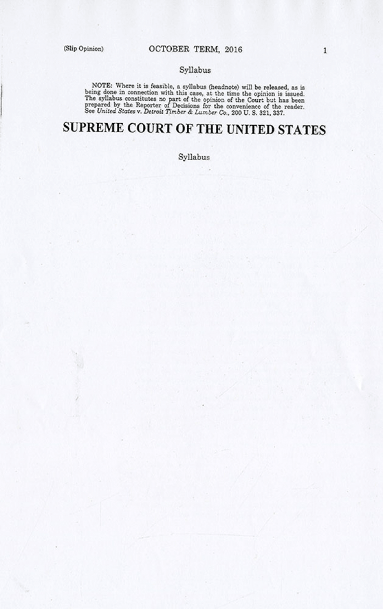 17-1107; 2019 Supreme Court The Individual Slip Opinions Term Of Court