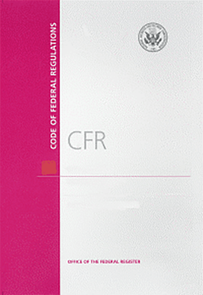 Cfr Title 482-end             ; Code Of Federal Regulations(paper)2020