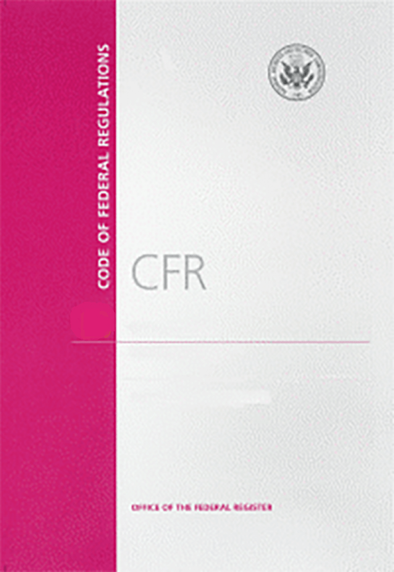 Cfr T 50 Pt 17(17.99-h)cover  ; Code Of Federal Regulations(paper)2020