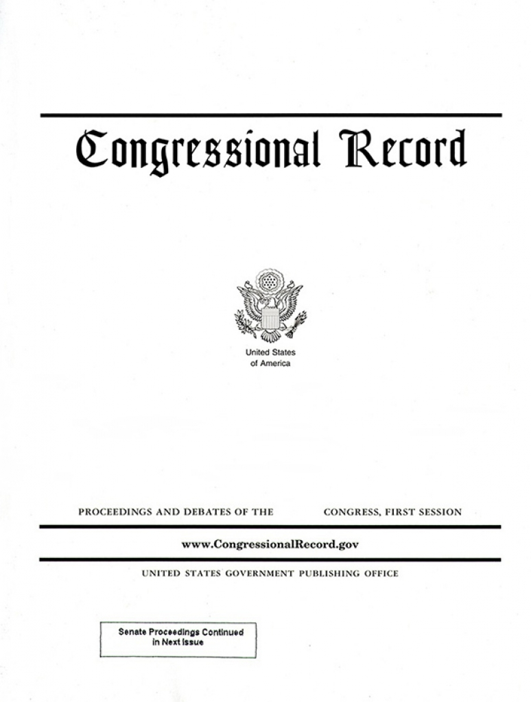 Vol 166 #92 05-15-20; Congressional Record