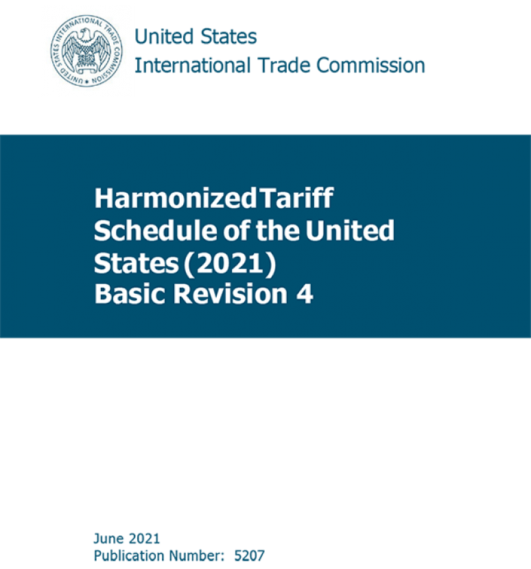Harmonized Tariff Schedules Of The Annotated For Statistical Reporting Purpose 33rd Edition 2021