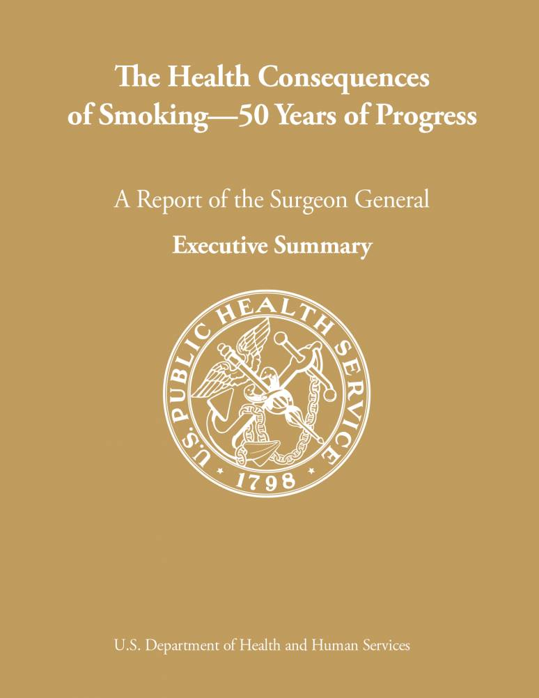 The Health Consequences of Smoking—50 Years of Progress. A Report of the Surgeon General Executive Summary  (ePub eBook)