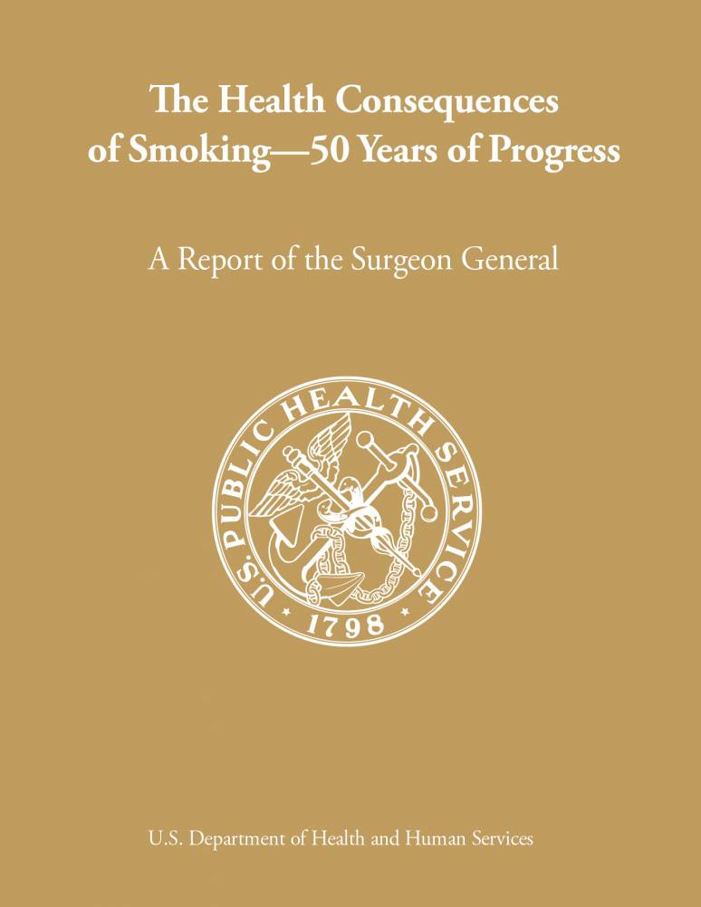 The Health Consequences of Smoking—50 Years of Progress. A Report of the Surgeon General (Full Report- ePub eBook)
