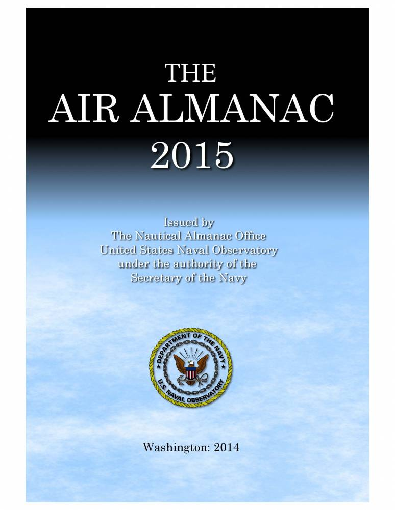 The Air Almanac 2015
