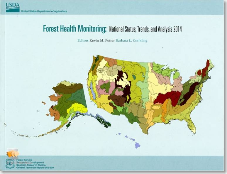 Forest Health Monitoring: National Status, Trends, and Analysis, 2014