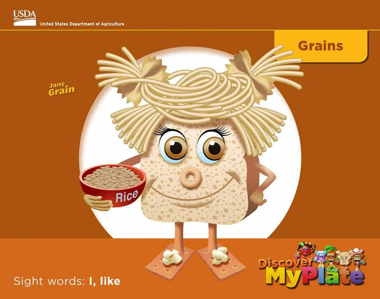 Discover MyPlate: Grains