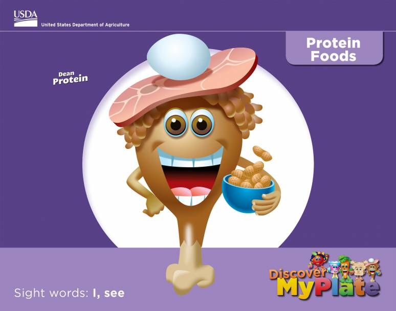 Discover MyPlate: Protein
