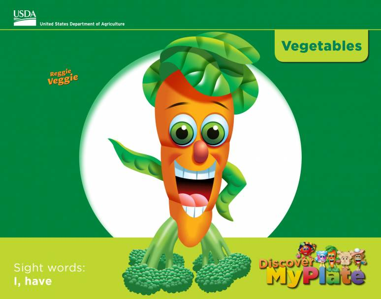 Discover MyPlate: Vegetables