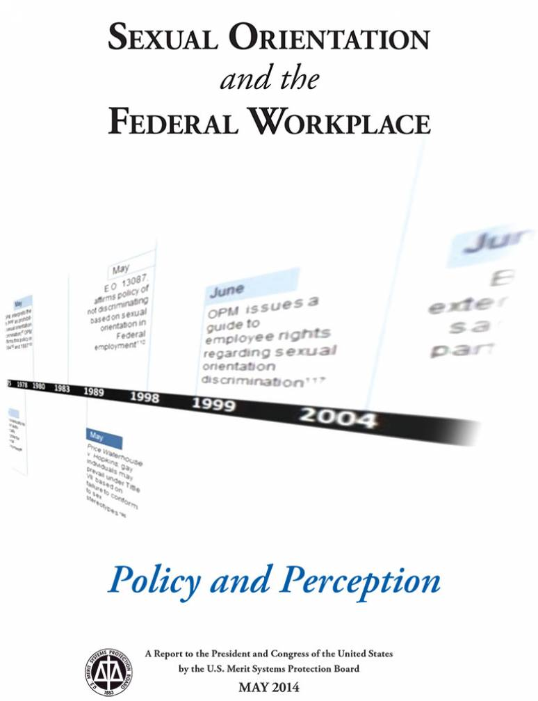Sexual Orientation and the Federal Workplace