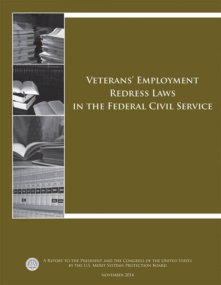 Veterans' Employment Redress Laws in the Federal Civil Service