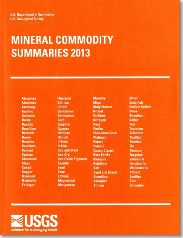 Mineral Commodity Summaries 2013