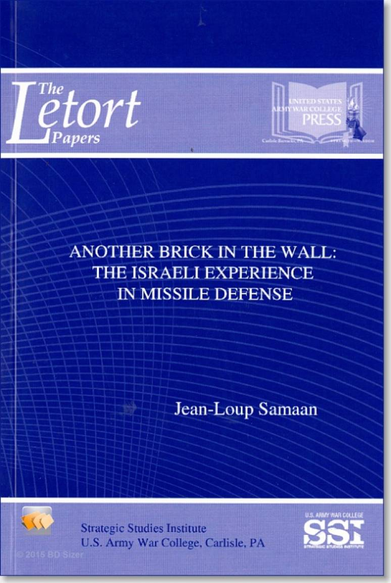 Another Brick in the Wall: The Israeli Experience in Missile Defense