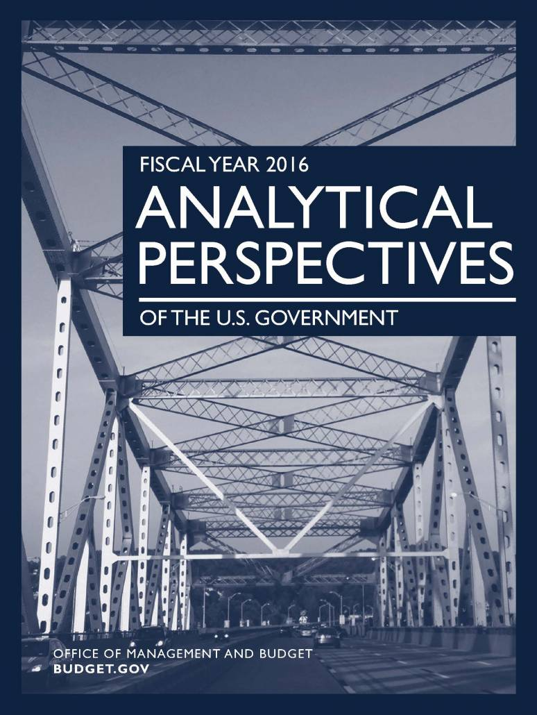 Fiscal Year 2016 Analytical Perspectives of the U.S. Government
