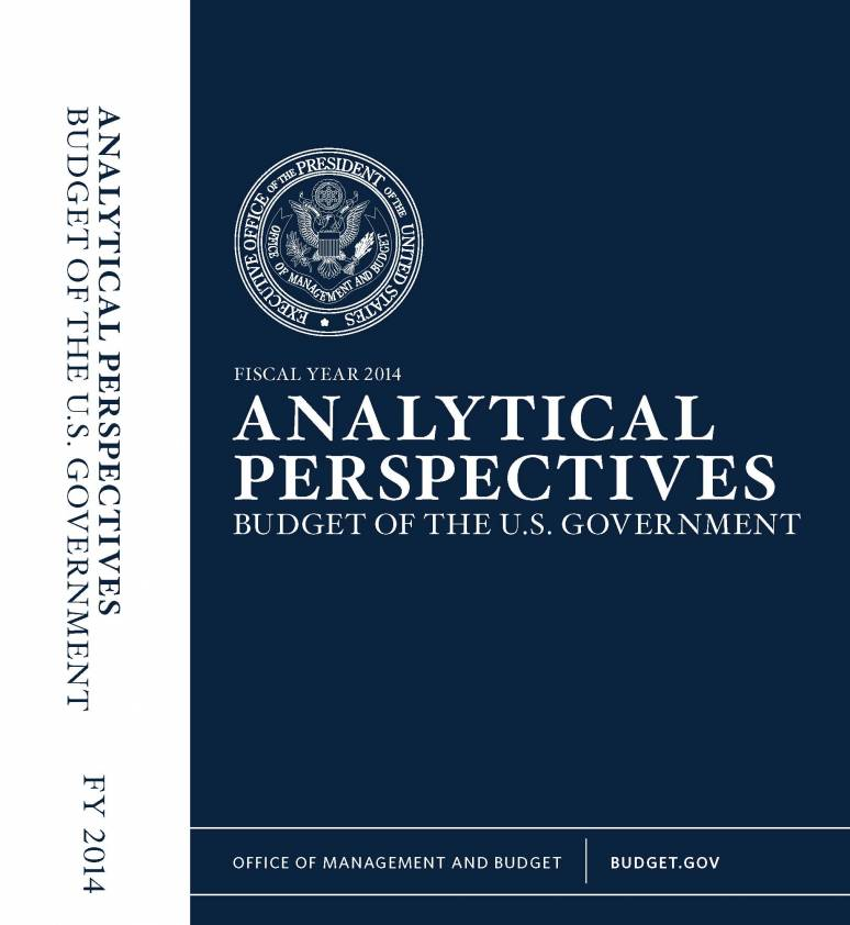 Fiscal Year 2014 Analytical Perspectives, Budget of the U.S Government