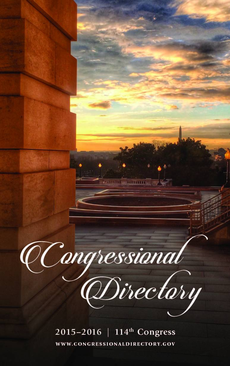 Congressional Directory 2015-2016, 114th Congress (Paperback)