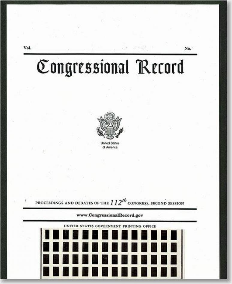 Congressional Record, V. 161, No. 179, December 10, 2015