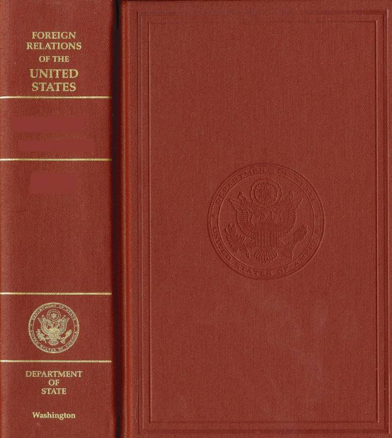 Foreign Relations of the United States, 1969-1976, V.  1: Foundations of Foreign Policy, 1969-1972