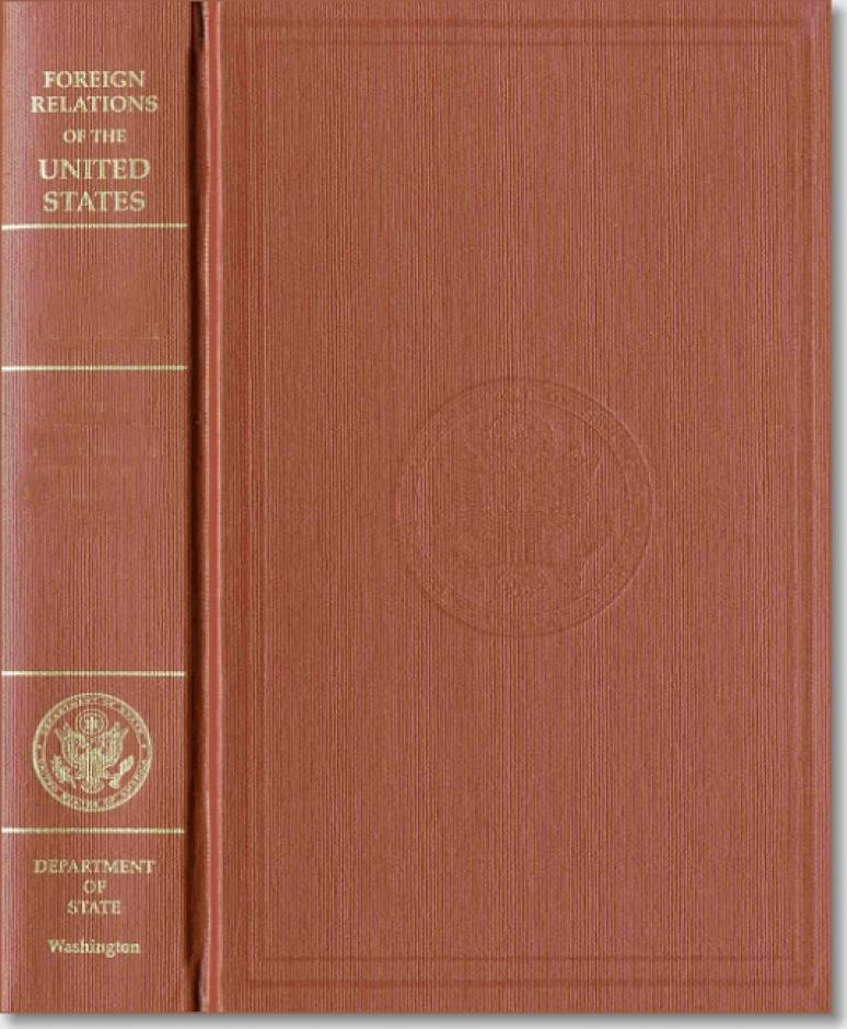 Foreign Relations of the United States, 1969-1976, Volume XXI, Chile, 1969-1973