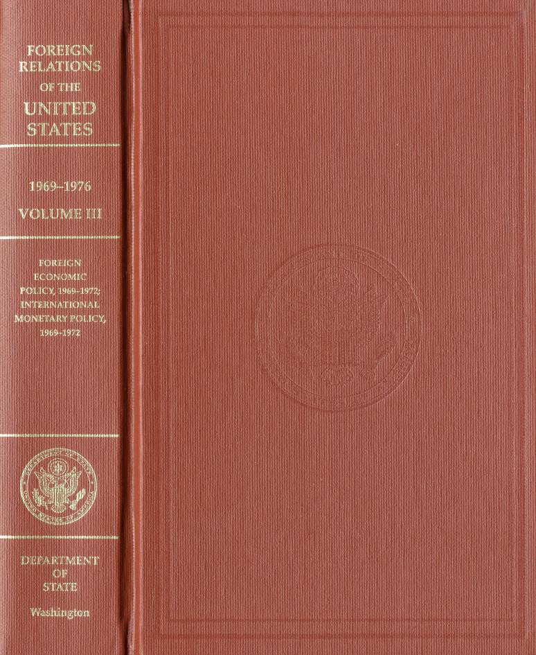 Foreign Relations of the United States, 1969-1976, V. XXVII, Iran, Iraq,  1973-1976