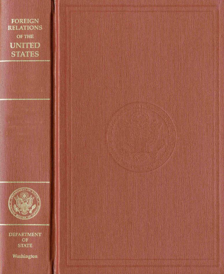 Foreign Relations of the United States 1969-1976, Volume XVI, Soviet Union, August 1974-December 1976