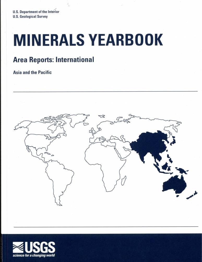 Minerals Yearbook, 2007, V. 3: Area Reports: International: Asia and the Pacific