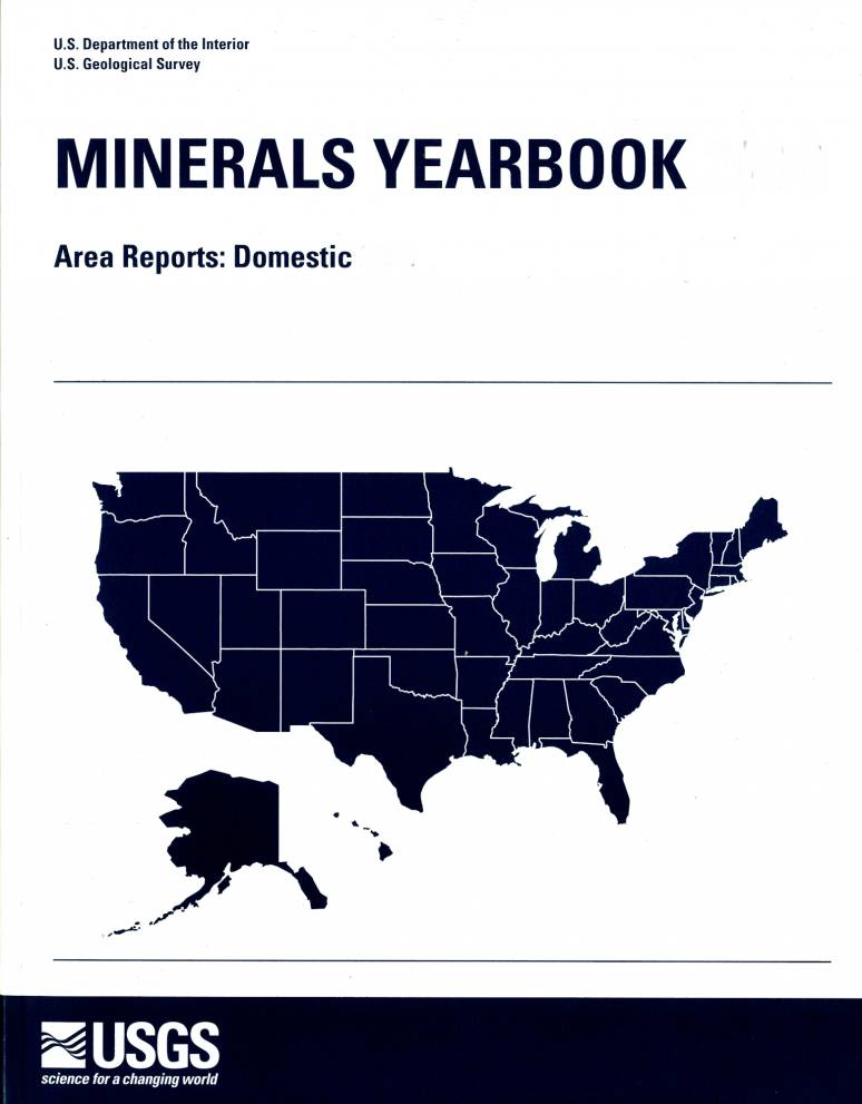 Minerals Yearbook, 2008, Area Reports: V. 2, Domestic