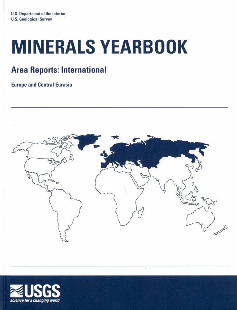 Minerals Yearbook, 2008, V. 3, Area Reports, International, Europe and Central Eurasia