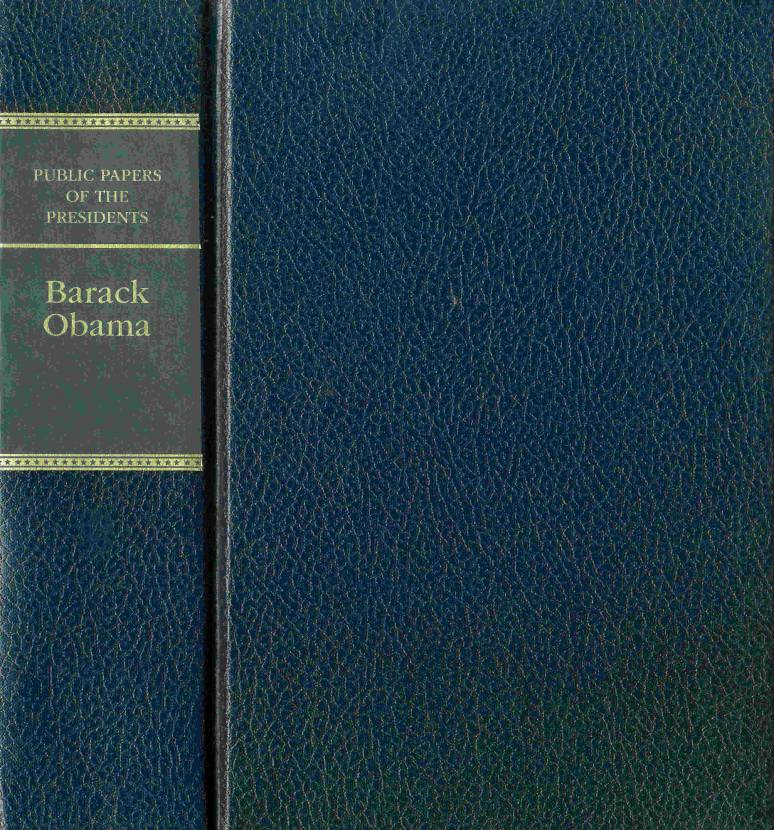 Public Papers of the Presidents of the United States, Barack Obama, 2010, Book 1, January 1 to June 30, 2010