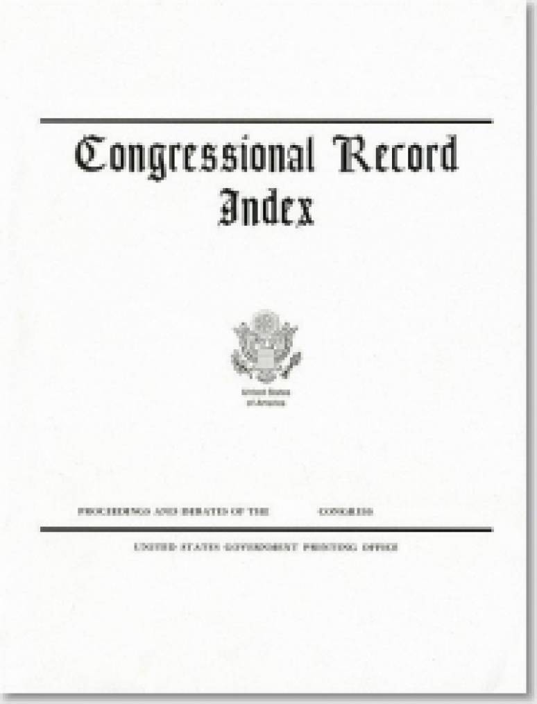 Congressional Record Volume 150, Index, January to December 2004, A-K, L-Z