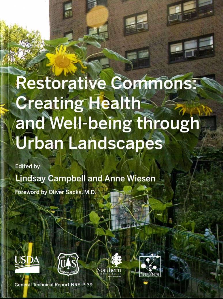 Restorative Commons: Creating Health and Well-Being Through Urban Landscapes