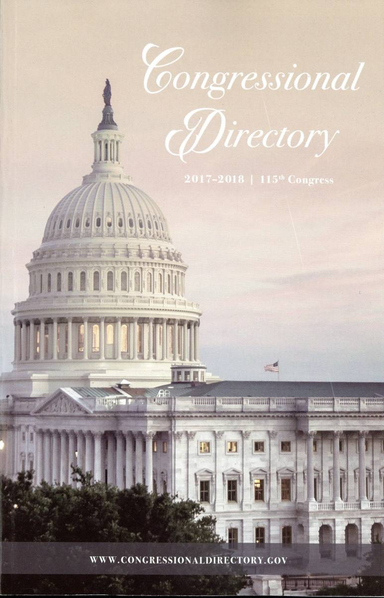 Official Congressional Directory 115th Congress (Paperback ...